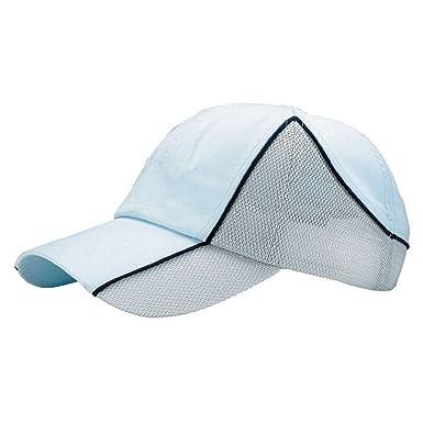 Gorra de Microfibra cepillada, Color Blanco: Amazon.es: Ropa y ...