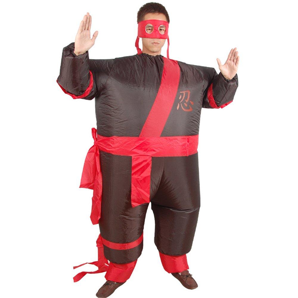 Amazon.com: Ninja Samurai Sumo - Traje hinchable para adulto ...