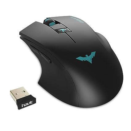 109d063e74c HAVIT HV-MS976GT 2.4GHz Adjustable 2000 DPI Wireless Gaming Mouse for  PC/Computer/Laptop: Amazon.ca: Electronics