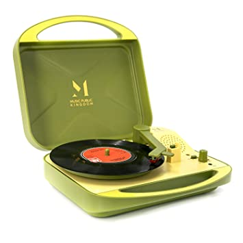Amazon.com: Tocadiscos TT250. Verde: Home Audio & Theater