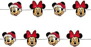 Kurt Adler 20 Piece Mickey & Minnie Fairy Lights Standard