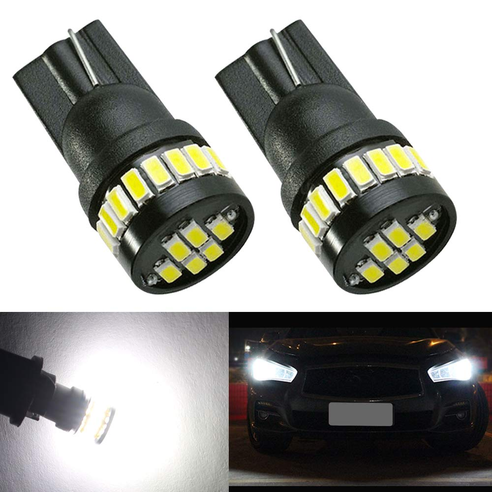 39MM Festoon C5W LED Bulb,HSUN 12V-24V Wide Voltage With 12LED-SMD2016 LED Bulbs,Canbus Error Free for Car Interior Dome Reading Light,License Plate Lights and more,2 Pack,6000K White