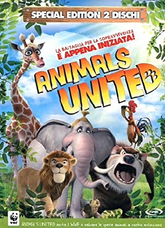 Animals united special edition 2 dvd : amazon.it: vari: film e tv