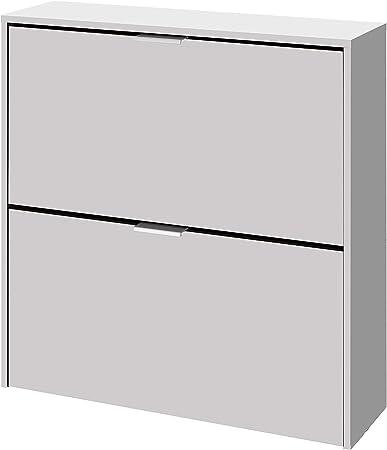 El mueble de zapatero dos puertas es ideal para adaptar a cualquier estancia de tu hogar: recibidor,
