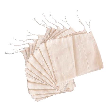 Amazon.com: Pack de 12 bolsas de sopa reutilizables ...