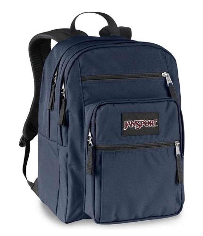 Amazon.com: JanSport Big Student Backpack (Deep Navy): Clothing