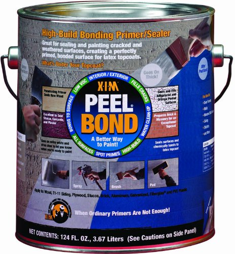 XIM 11461 High Build Water Based Bonding Primer/Sealer, 1-Gallon, (Bond Primer)