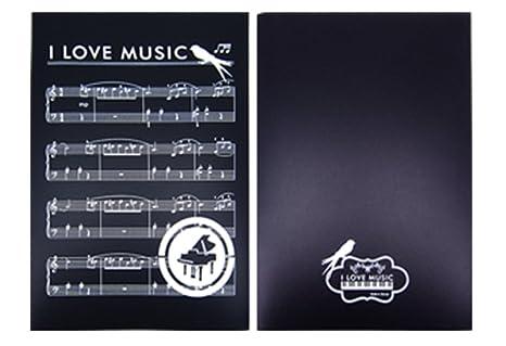 Ufficio Per Musica : Partyerasers musica a tema i love music pagine music cartellina