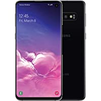 Samsung - Galaxy S10 with 128GB Memory Cell Phone Prism - Black (Desbloqueado)