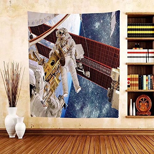 Gzhihine Custom tapestry Outer Space Decor Tapestry Interior Center Tunnel View of a Space Station Dimensional Tech Sci Fi for Bedroom Living Room Dorm Black - San Outlet Francisco Centre