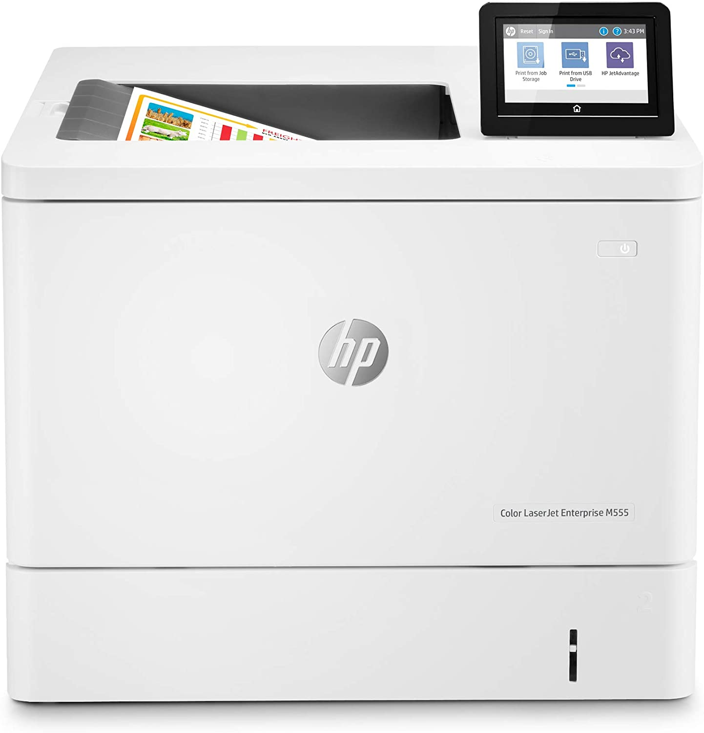 HP Color Laserjet Enterprise M555dn Duplex Printer (7ZU78A)