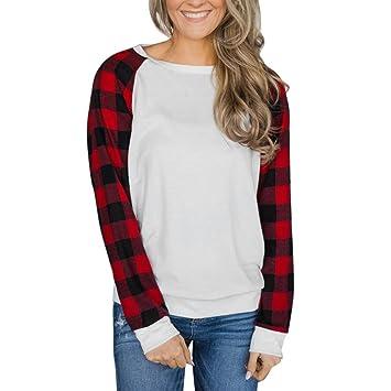 huihui Mujer Mode Sexy Blusas lose elegante Jersey manga larga blusa de blusas o punteras Recorte