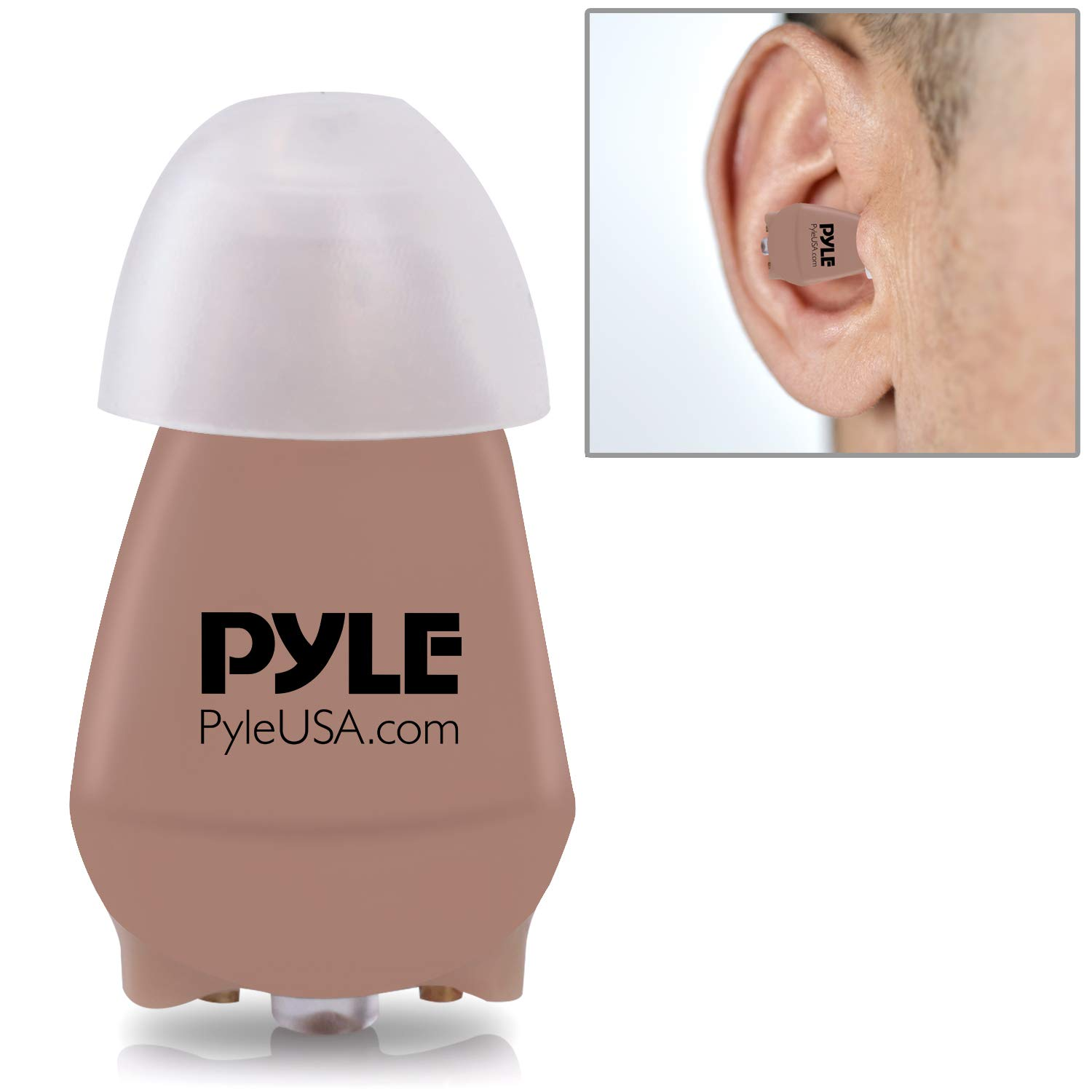 Mini Itc Digital Hearing Device In The Ear Canal Living Aids Amplifiers Accessories Wireless Hear Sound Amplifier Rechargeable Battery Filters Noise Listening Kit