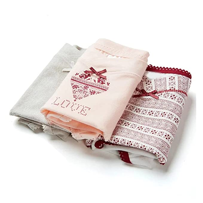 Juleya Ropa Interior de Maternidad Embarazo Bragas de Cintura Baja para Mujeres Embarazadas íntimos Escritos 3 unids/Lote: Amazon.es: Ropa y accesorios