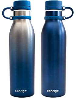 929386f8f8 Contigo Thermalock Stainless Steel 20 oz Water Bottle - 2-Pack (Monaco and  Ombre