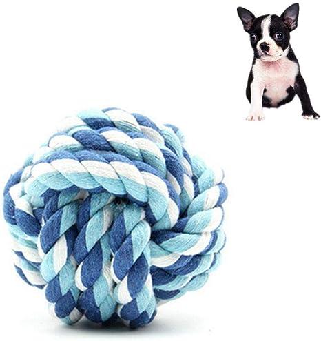 KOBWA - Pelota de Juguete de Cuerda para Perro, de algodón teñido ...
