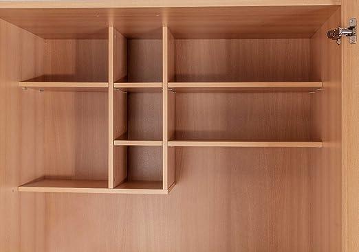 Schrankküche Buche 1,00 m Büroküche Kühlschrank Singleküche Minik ... | {Schrankküche gebraucht 97}