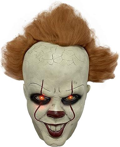 Stephen King/'s  Mask Pennywise Clown Mask Halloween Cosplay Costume U.S Seller