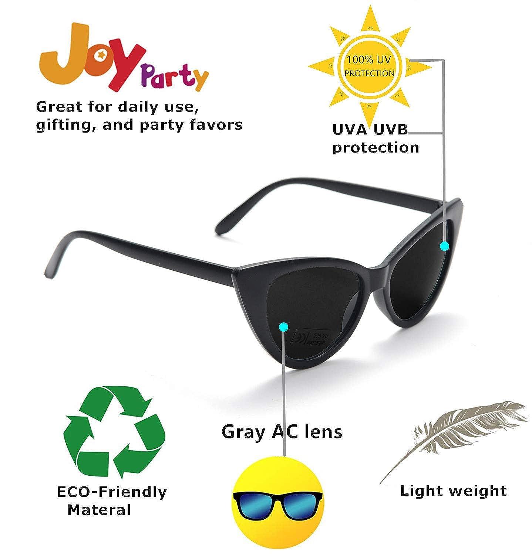 Amazon.com: Pack de 10 gafas de sol retro vintage, estrechas ...