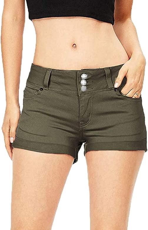 Cocoty-store 2019 Denim Pantalones Cortos Mujer Básicos ...