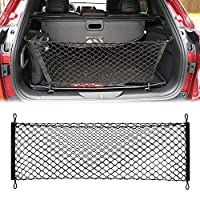 Envelope Trunk Cargo Net-Nylon Rear Cargo Mesh Trunk Organizer For Jeep Grand Cherokee Compass Patriot Renegade 2015 2016 2017 2018