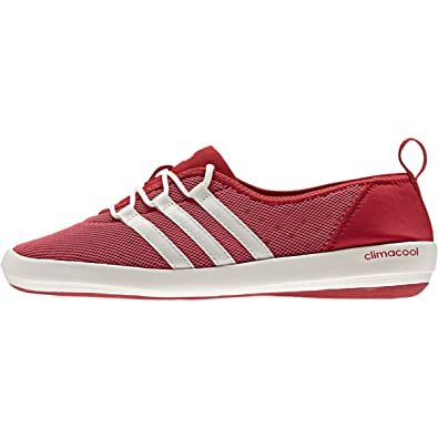 0d38d313ac6d5 adidas Outdoor Climacool Boat Sleek Water Shoe - Women s Ray Red Chalk  White Ray
