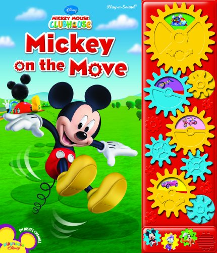Play-a-Sound: Mickey Mouse Clubhouse, Mickey on the Move -
