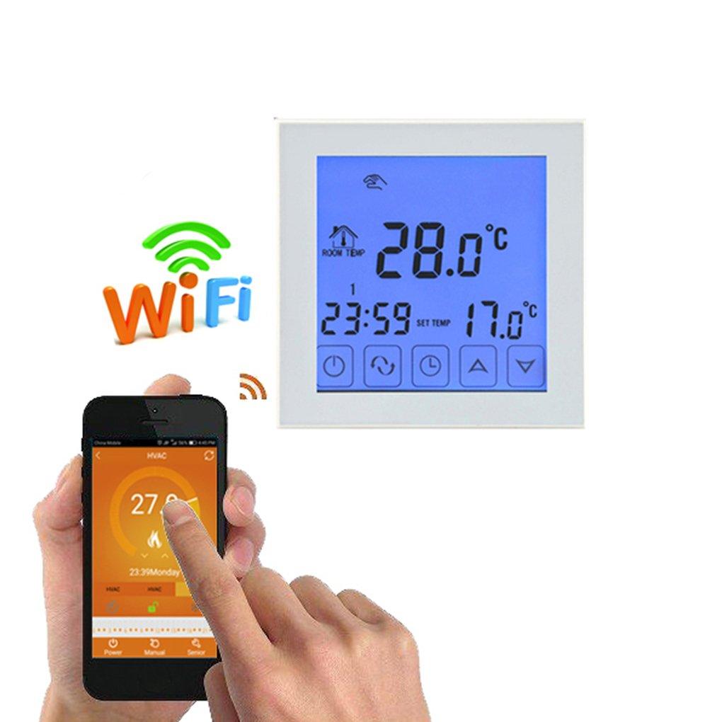 Ben-gi Digital Wifi acqua da pavimento riscaldonnato cronotermostato programmabile Display LCD regolatore di temperatura del termostato Wifi