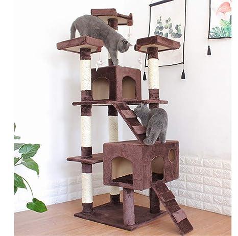 Amazon.com: D&D - Palo de gato y torre para árbol de gato ...