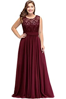 a68308f5fa7 Babyonline Women Chiffon Long Mother of The Bride Dresses Plus Size Prom  Dresses