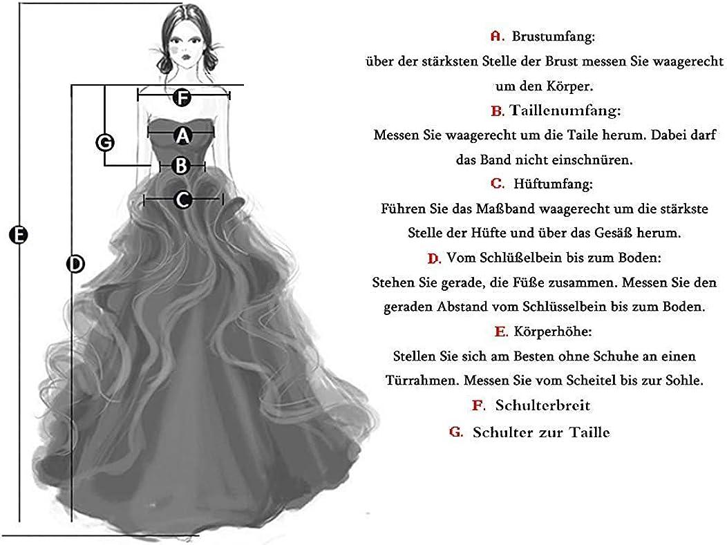 Abito da sposa linea A per abito da sera, abito da sposa, in pizzo, chiffon, con maniche lunghe Nero