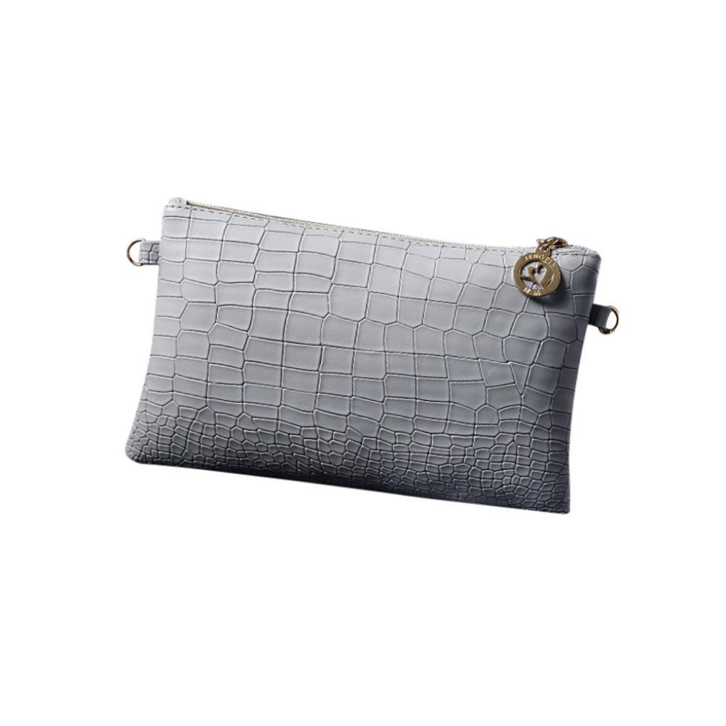 Amazon.com: Clearance! FDelinK Women Fashion Handbag Crocodile Pattern Crossbody Shoulder Bag Small Tote Ladies Purse (Beige): Clothing