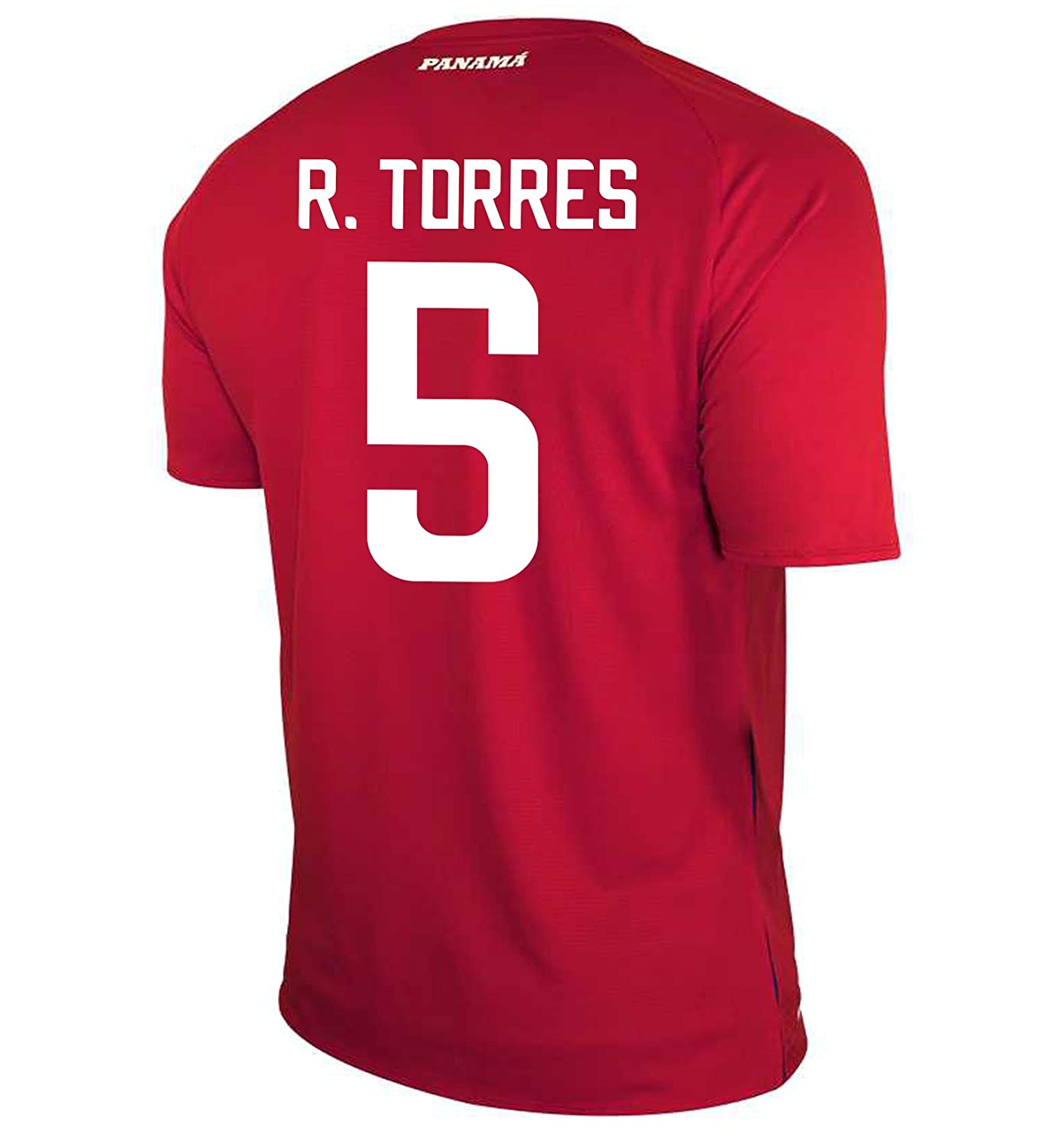 New Balance Men's R. TORRES # 5 Panama Home Soccer Jersey FIFA World Cup Russia 2018/サッカーユニフォーム パナマ ホーム用 トーレス # 5 B07D2L41J8 US Large