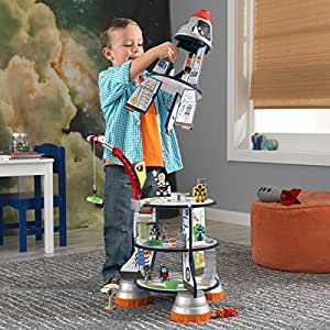 KidKraft Rocket Ship Perfect For Young Children Who Are Interested In Outer Space