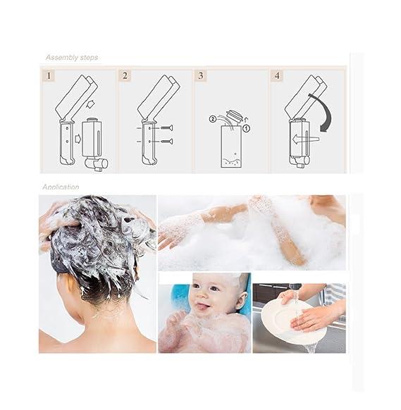 Amazon.com: Automatic soap Dispenser,Creative European Home Bathroom Automatic soap Dispenser Bottle Hand sanitizer Bottles,A: Home Improvement