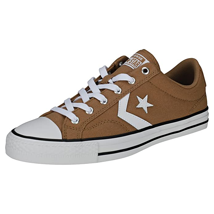 Converse Star Player Low Top Unisex Erwachsene Braun