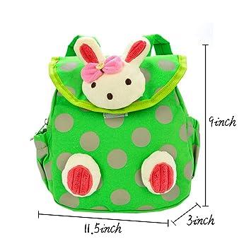 83638418ed05 Amazon.com: Eonkoo Trendy Lovely 3D Doll Rabbit Baby School bag ...