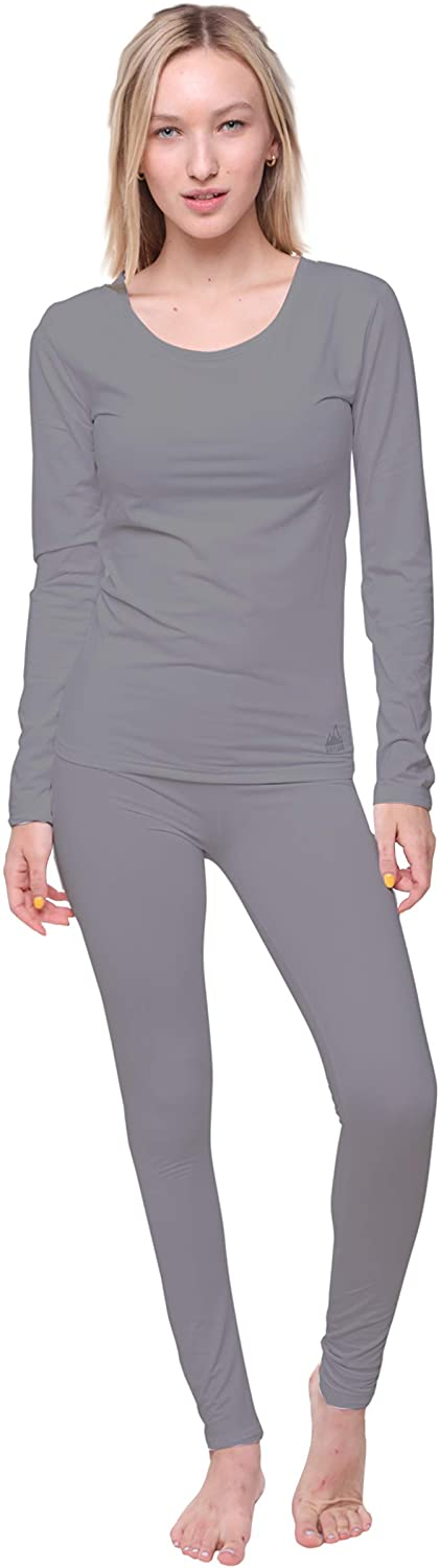 Outland Women's Thermal Set, Lightweight Ultra Soft Fleece Shirt and Tights