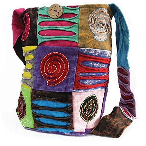 Bag Spiral Ethnic Ethnic Sling Purple Ethnic Spiral Purple Sling Sling Bag xq8BCnqw