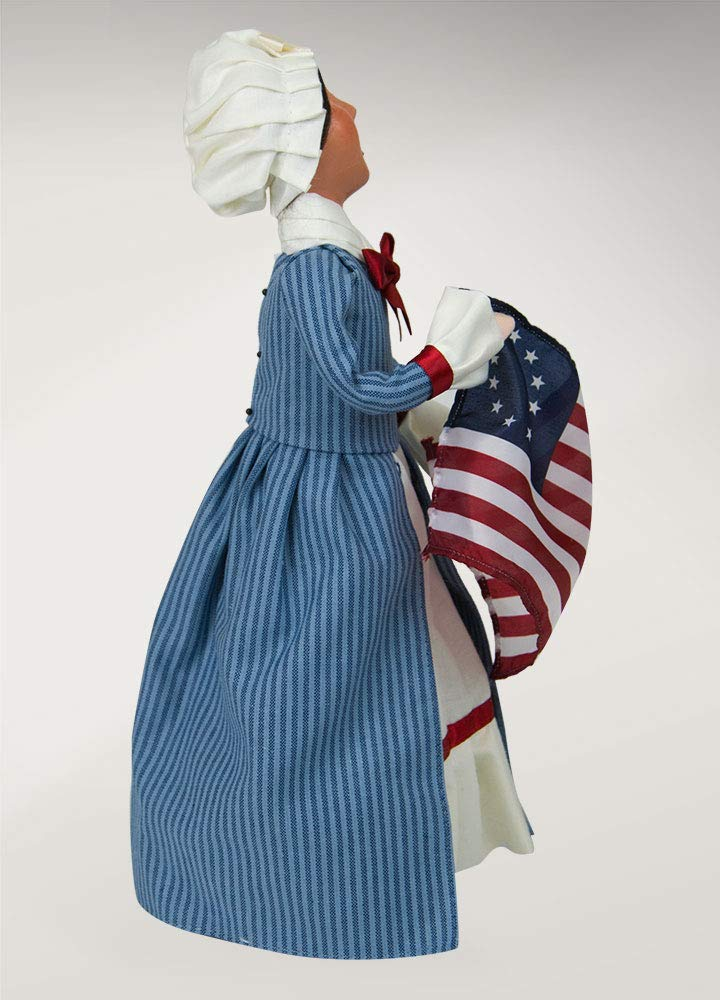 Byers Choice Betsy Ross Caroler Figurine 554W from The Historical Collection