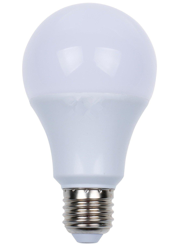 Kendal E27 LED radar Motion Detection Light Sensor Pir Light Bulb Lamp Auto Switch Stairs Night Light Detection Range 24-36 feet (9 Watts)