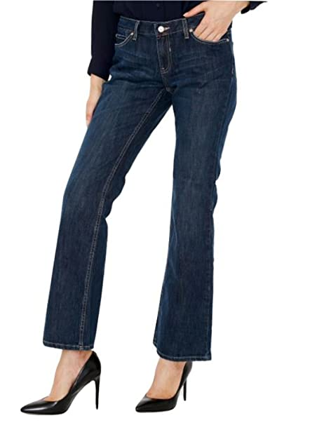 c2d0a0ba8fa Canyon River Blues Women's Slim Boot Cut Blue Jeans – Light Distressed  Stretch, Mid Rise, Fitted Cut