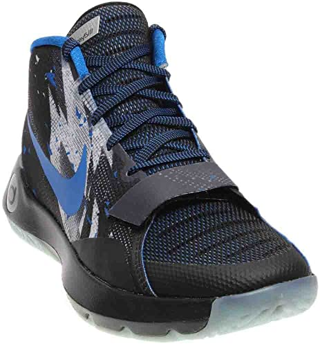 6b607ac9fd69 Nike KD Trey 5 III PRM Men US 10 Black Basketball Shoe  Buy Online at Low  Prices in India - Amazon.in