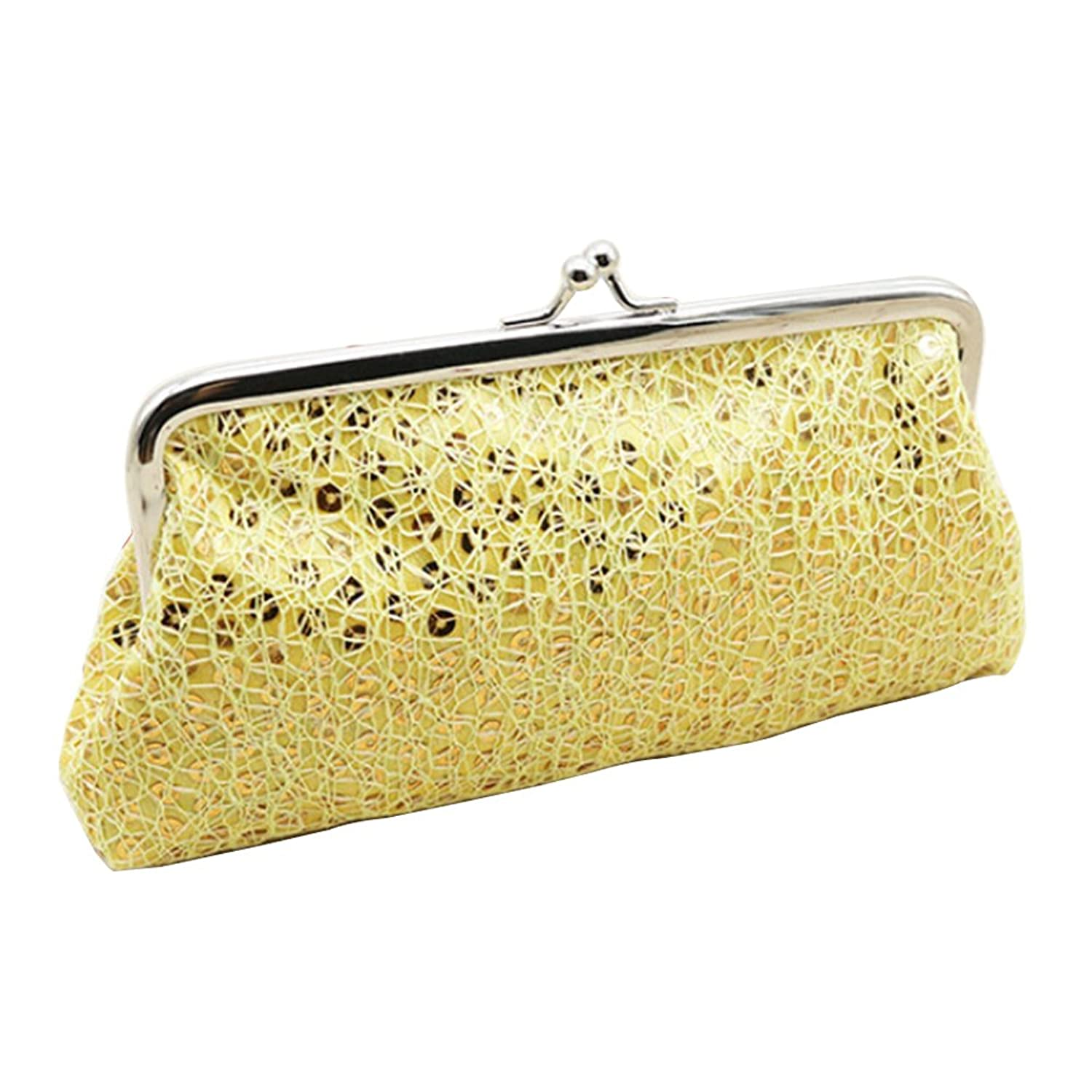 Women Sequins Buckle Clutch $3...