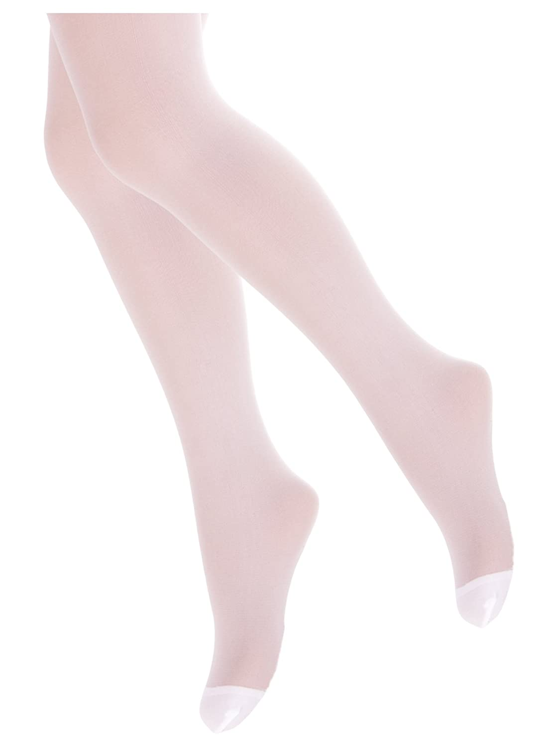 TLLC Girls Plain Sheer 20 Denier Tights For Special Occasions