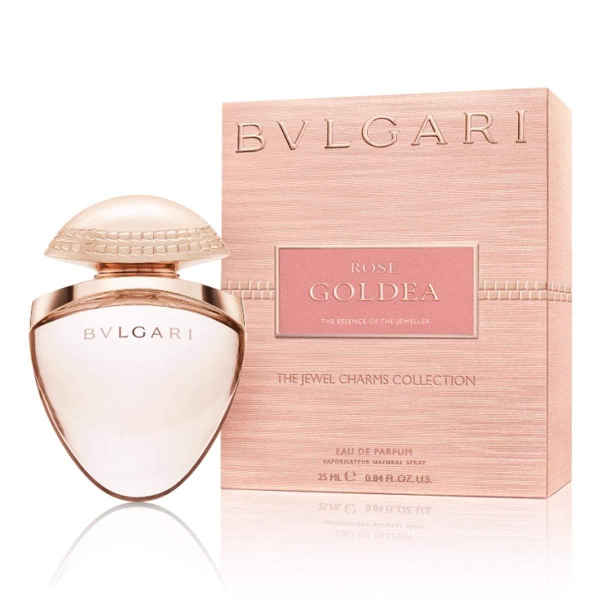 Bvlgari Rose Goldea Mujeres 25 ml - Eau de parfum (Mujeres, 25 ml, Musk o almizcle, Rosa, Aerosol, 1 pieza(s))