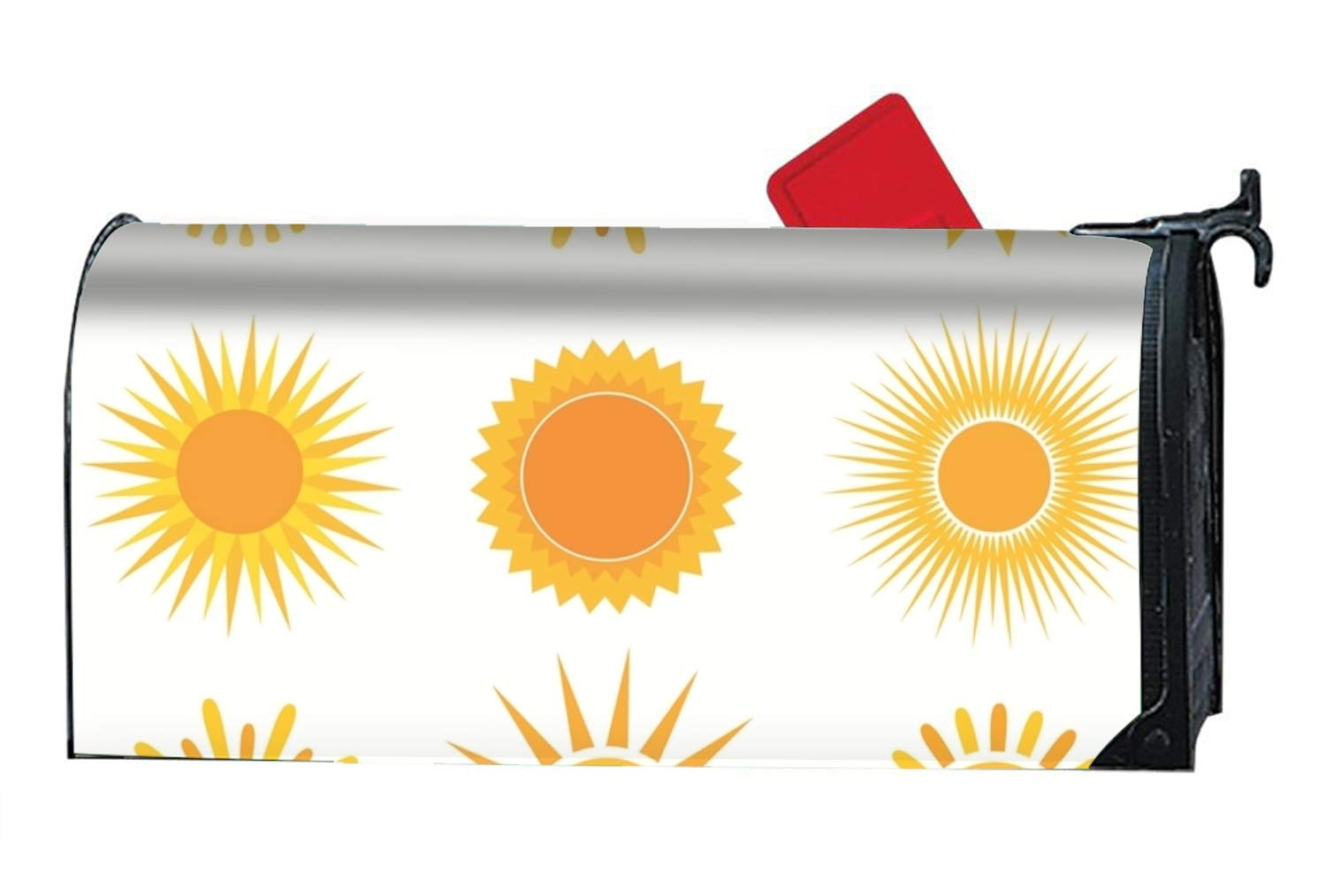 BABBY The Beautiful Sun Pattern Mailbox Cover Standard