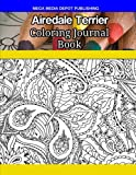 Airedale Terrier Coloring Journal Book