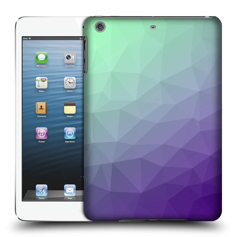 Amazon com: Official PLdesign Purple Green Ombre Geometric Hard Back