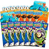 Disney Pixar Toy Story 4 Party Favors Pack ~ Bundle of 12 Toy Story Play Packs Filled with Stickers, Coloring Books, Crayons with Bonus Finding Dory Stickers (Toy Story Party Supplies)